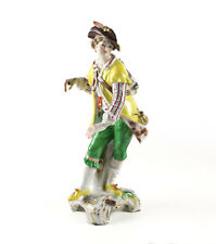 KPM Royal Berlin Porcelain Figurine 19th century Gentleman w/ pipe and rucksack