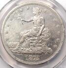 1875-CC Trade Silver Dollar T$1 - PCGS AU Details - Rare Carson City Coin