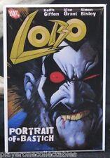 "Lobo Portrait of a Bastich Comic Book Cover - 2"" X 3"" Fridge Magnet. DC"