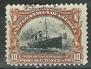 DEALER'S CHOICE U.S.1901 #299 10c Fast Ocean Navigation WYSIWYG Lot