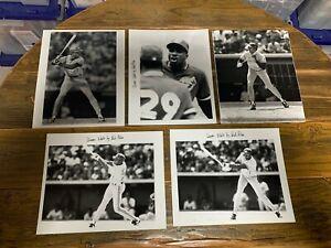 Devon White 8x10 press photos (5) The Sporting News TSN Toronto Blue Jays