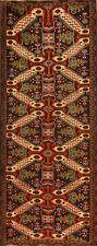 Tapis Oriental Authentique Tissé À La Main Persan d'entrée N° 3956 (305 x 120)cm