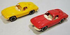 2 Vintage Tonka Corvette Split Window Car Hauler Carrier Transport Truck