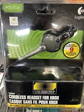 Xbox Logitech 2.4 GHZ Cordless Rechargeable Wireless Headset New and Sealed