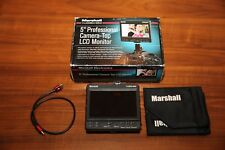 "Marshall V-LCD50-HDI 5"" HDMI Lightweight Portable Video Monitor"