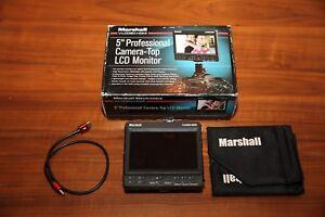 "Marshall V-LCD50-HDI 5"" HDMI Lightweight Portable Video Monitor"