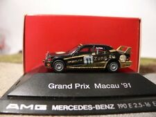 1/87 Herpa AMG MB 190 E 2.5-16 EVO II GRAND PRIX MACAO 1991 #11 K. Thiim exclusivement