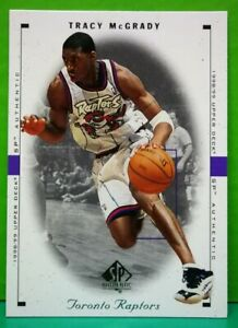Tracy McGrady regular card 1998-99 Upper Deck SP Authentic #82