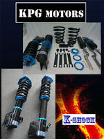 K SHOCK FULL ADJUSTABLE COILOVER KIT FOR SUSPENSION SUBARU GRB WRX IMPREZA
