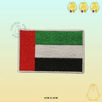 Emirates National Flag  Embroidered Iron On Sew On Patch Badge For Clothes Etc