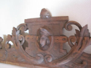 super antiques french handcarved wood  jester