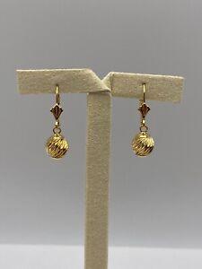 Solid 18k Gold Earrings