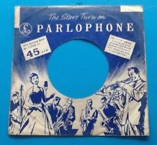 Replica Of Original Used Early Parlophone Label, Company Record Sleeve