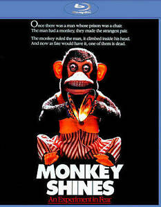 Monkey Shines (Blu-ray Disc, 2014) Shout! Factory Rare OOP