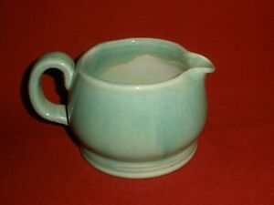 VINTAGE Small GREEN BAKEWELLS POTTERY Kitchen JUG Very Good Condition