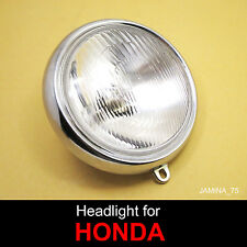 Honda ct70 Mini Trail 70 DAX 91 92 93 94 lumineuse Head Lamp 12 V Bulb + Rim