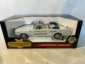 ERTL American Muscle 1/12 1964 1/2 Mustang Convertible Pace Car Indianapolis 500