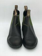 Blundstone Men's Original 500 Series, Stout Brown/Olive, 9.5 M US Men's/11.5 Mus