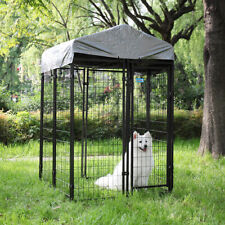 Dog Kennel Outdoor Indoor Crate Shelter Waterproof Cover Shade Splicable House