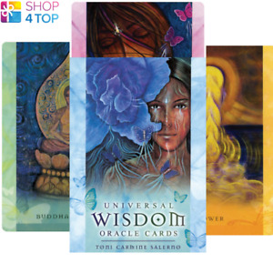 Universal Wisdom Oracle Deck Cards Esoteric Fortune Telling Blue Angel New