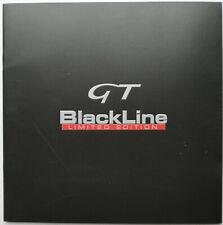 2007-2008 Alfa Romeo GT Blackline 2.0 JTS & 1.9 JTDM Limited Edition Brochure