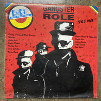 Various Reggae/Dancehall- Gangster Role Vol. One (Vinyl LP VG+) Free Shipping