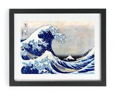 The Great Wave Off Kanagawa Hokusai Japanese Woodblock Art Print Picture A4