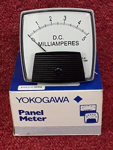 Yokogawa Panel Meter Model YOK2503FAZZ 0-5 D.C. Milliamperes *