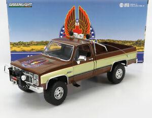 "1982 GMC K-2500 PICKUP TRUCK ""THE FALL GUY"" 1:18 DIECAST MODEL GREENLIGHT 13560"