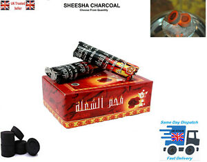 SHISHA HOOKAH CHARCOAL BAKHOOR INCENSE BURNER COAL TABLETS FOR Nakhla UK Seller