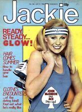 JACKIE MAGAZINE #861 JOHN MCENROE COLOUR POSTER, BJ AND THE BEAR