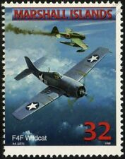 Us navy GRUMMAN F4F WILDCAT transporteur avions de chasse Avion Mint Stamp