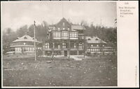 JOHNSTOWN PA 'New' Memorial Hospital Antique Town View Old Vtg Early Postcard