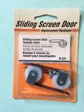 "2 QTY SLIDING SCREEN DOOR REPLACEMENT TENSION ROLLER 1"" NYLON WHEEL B-521"