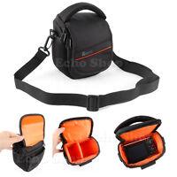 Bridge Camera Shoulder Carry Case Bag For SONY Cyber-Shot DSC ILCE-QX1 HX400V