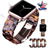 Tortoise shell Lines Belt Strap For Apple Watch 38 40 42 44 Band Series 4 3 2 1