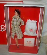 Coach Barbie Doll NRFB 2013 Designer doll Collection Mattel Designer doll