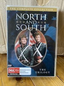 North And South - The Complete Collection (8 Disc, Dvd, Pal 4) The Trilogy