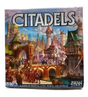 Brand New Sealed Bruno Faidutti's Citadels Board Game (Z-MAN Games)