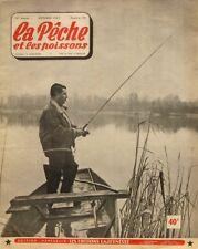 La Pêche et les Poissons n°143 - 1957 - Flotteur lesté - Ablette - Anguille