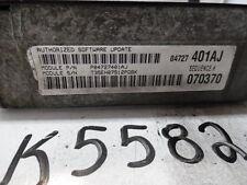 01 DODGE NEON 04745860 COMPUTER BRAIN ENGINE CONTROL ECU ECM EBX MODULE K5582