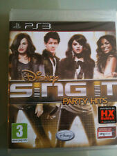 DISNEY SING IT PARTY HITS  PS3 SIGILLATO ITALIANO