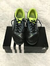 Adidas Free Football X-ite Five Turf Soccer Shoes Size 8 Black Green
