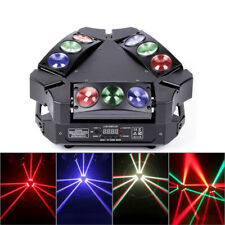 90W 9 LED RGB Spider Moving Head Stage Lighting Beam LED DJ Disco Party Lights