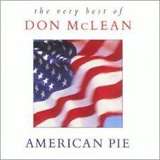 Don McLean American pie-The very best of (18 tracks, 1994) [CD]