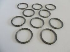 Harley Davidson Twin Power Exhaust Seal Gasket - Flat Race Style 10 Pack