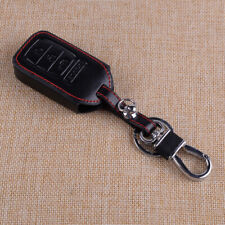 Leather Key Case Cover fit for Honda Accord Civic CR-V CR-Z HR-V Remote Fob