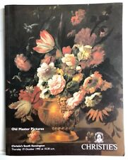 Christie's Auction Catalog 1995 Old Master Pictures - Info & Reference