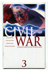 Civil War #3 NM  Millar McNiven Vines Hollowell Marvel Comics  CBX1F