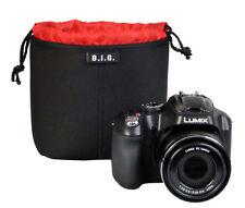 B.I.G. PC14 Neopren Kamerabeutel, 14x14x10 cm, perfekter Kamera - Schutz